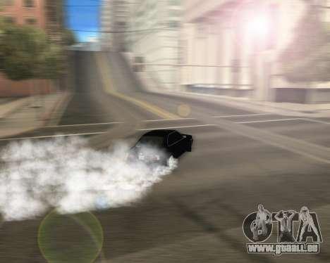 BMW 5-er E34 für GTA San Andreas Innenansicht