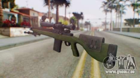 ARMA2 M14 Dmr Sniper für GTA San Andreas zweiten Screenshot