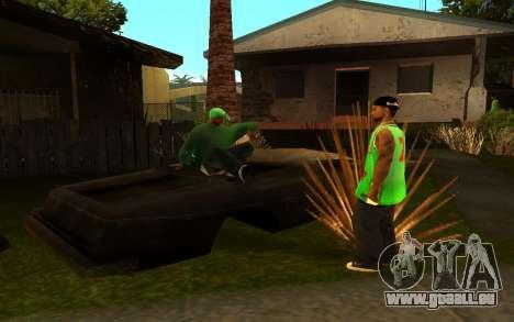 La renaissance de la rue ganton pour GTA San Andreas cinquième écran