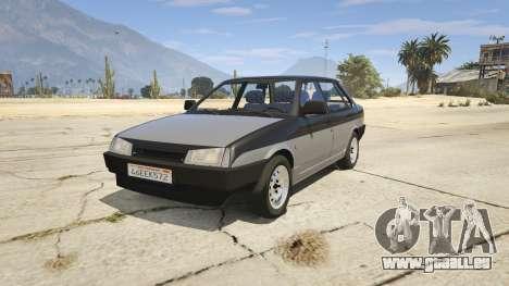 VAZ 21099 v3 pour GTA 5