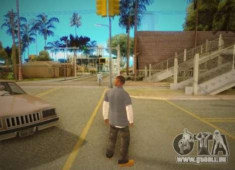 SA SuperPro ENB v1 pour GTA San Andreas quatrième écran