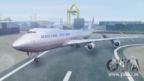 Boeing 747-400 Prototype (N401PW) pour GTA San Andreas