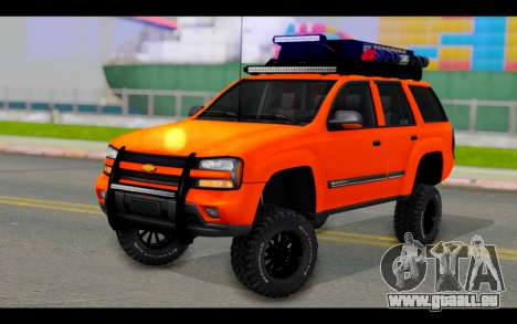 Chevrolet Traiblazer Off-Road pour GTA San Andreas