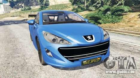 Peugeot RCZ pour GTA 5
