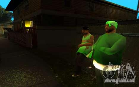 Die Wiederbelebung der Straße ganton für GTA San Andreas dritten Screenshot