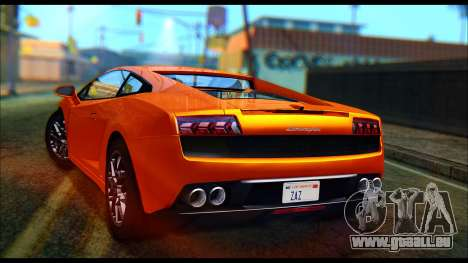 Lamborghini Gallardo LP560 PJ pour GTA San Andreas