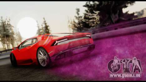 Cosmo Effects pour GTA San Andreas