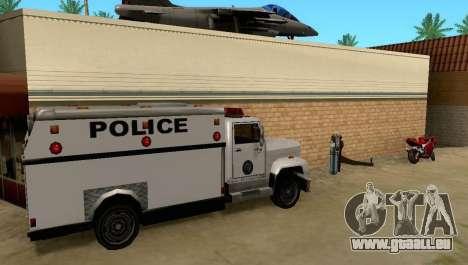 New Grove Street vehicles pour GTA San Andreas troisième écran