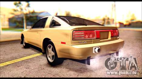 Toyota Supra MK3 Tunable pour GTA San Andreas vue intérieure