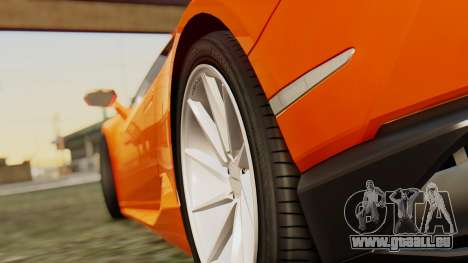 Lamborghini Huracan LP610-4 2015 pour GTA San Andreas vue de droite