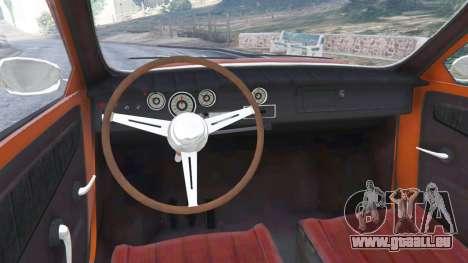 GTA 5 Saab 96 arrière droit vue de côté