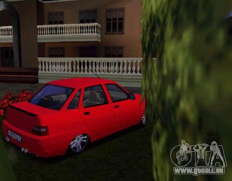 VAZ 2110 KBR pour GTA San Andreas vue de droite