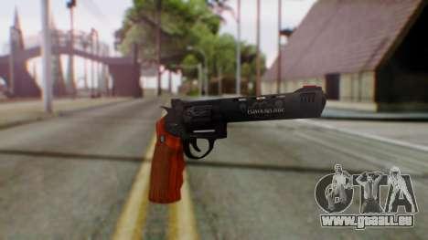 GTA 5 Bodyguard Revolver pour GTA San Andreas