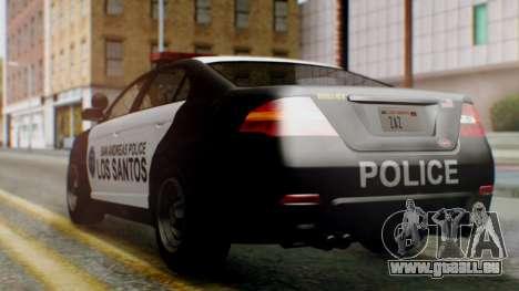 GTA 5 Police LS für GTA San Andreas linke Ansicht