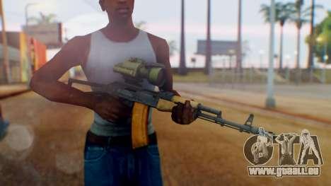 Arma OA AK-47 Night Scope für GTA San Andreas dritten Screenshot