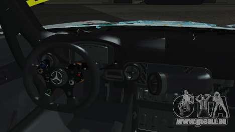 Mercedes-Benz SLS AMG GT3 2015 Hatsune Miku pour GTA San Andreas vue intérieure