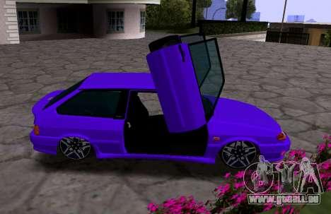 VAZ 2113 KBR pour GTA San Andreas vue de droite