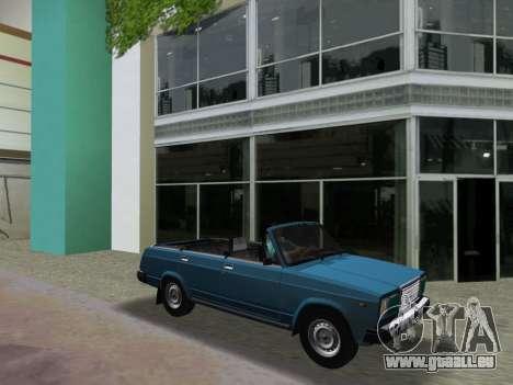 VAZ 21047 Convertible pour une vue GTA Vice City de l'intérieur