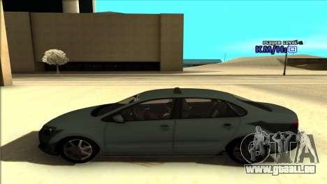 Volkswagen Polo pour GTA San Andreas vue intérieure