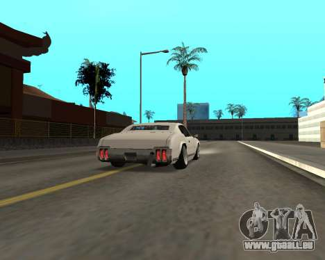 Sabre Boso pour GTA San Andreas vue de droite