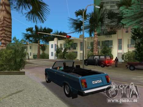 VAZ 21047 Cabrio für GTA Vice City zurück linke Ansicht