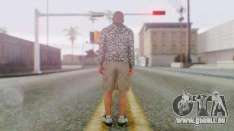 GTA 5 Michael pour GTA San Andreas troisième écran