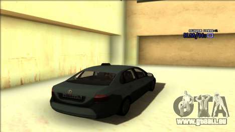 Volkswagen Polo für GTA San Andreas obere Ansicht