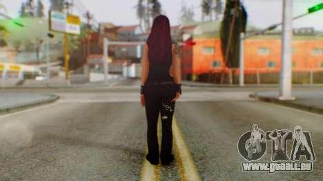 WWE Lita pour GTA San Andreas troisième écran
