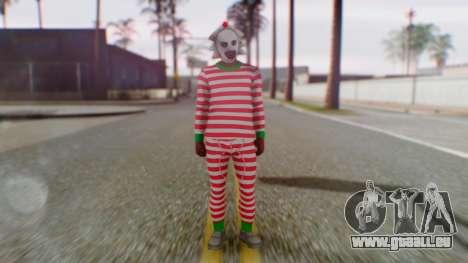 GTA Online Festive Surprise Skin 3 für GTA San Andreas zweiten Screenshot