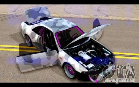 Nissan Skyline R33 Drift für GTA San Andreas Seitenansicht