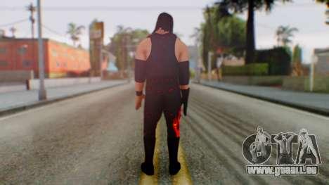 WWE Kane pour GTA San Andreas troisième écran