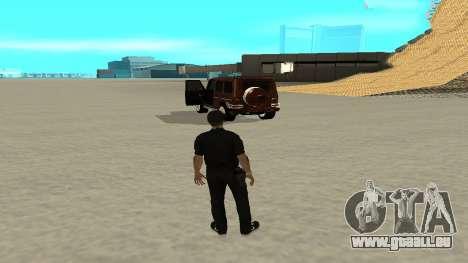 Eine schnelle Ausfahrt aus dem Verkehr für GTA San Andreas