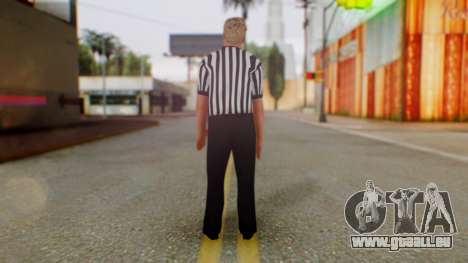 WWE Arbitro für GTA San Andreas dritten Screenshot