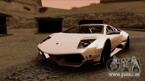 Lamborghini Murcielago LP670-4 SV 2010 für GTA San Andreas