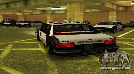 Police LS für GTA San Andreas zurück linke Ansicht