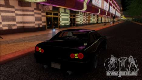 Elegy HellCat pour GTA San Andreas vue intérieure