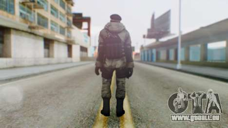 Counter Strike Online 2 Arctic für GTA San Andreas dritten Screenshot
