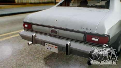 Ford Gran Torino 1974 IVF für GTA San Andreas Seitenansicht