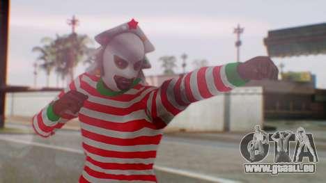 GTA Online Festive Surprise Skin 3 für GTA San Andreas