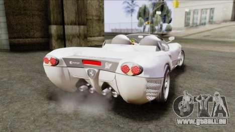 Ferrari P7 Yrid für GTA San Andreas linke Ansicht