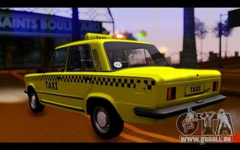 Zastava 125PZ Taxi pour GTA San Andreas laissé vue