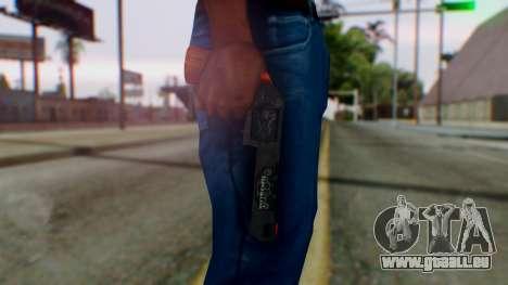 GTA 5 Bodyguard Revolver pour GTA San Andreas troisième écran