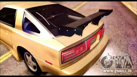 Toyota Supra MK3 Tunable für GTA San Andreas Innen