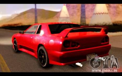 ElegyX pour GTA San Andreas laissé vue