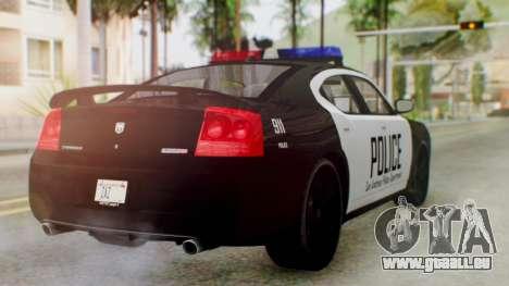 New Police LS für GTA San Andreas linke Ansicht
