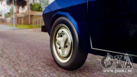 Dacia 1300 v2 für GTA San Andreas zurück linke Ansicht