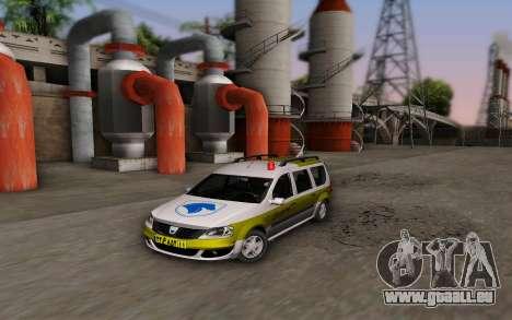 Dacia Logan Emdad Khodro pour GTA San Andreas