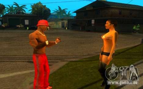 Die Wiederbelebung der Straße ganton für GTA San Andreas her Screenshot