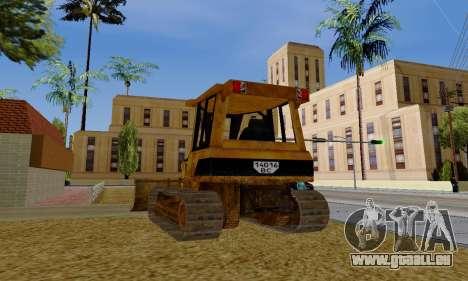 New Dozer pour GTA San Andreas vue de droite