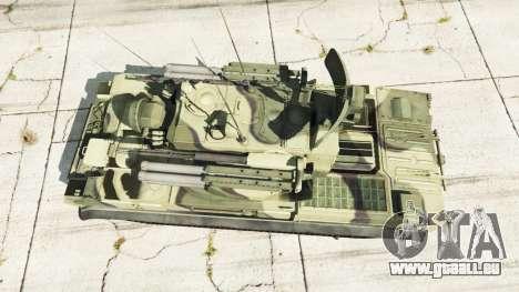 2К22 Tunguska pour GTA 5
